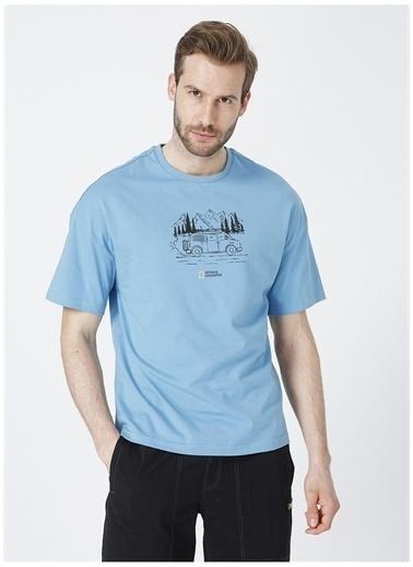 National Geographic National Geographic T-Shirt Mavi